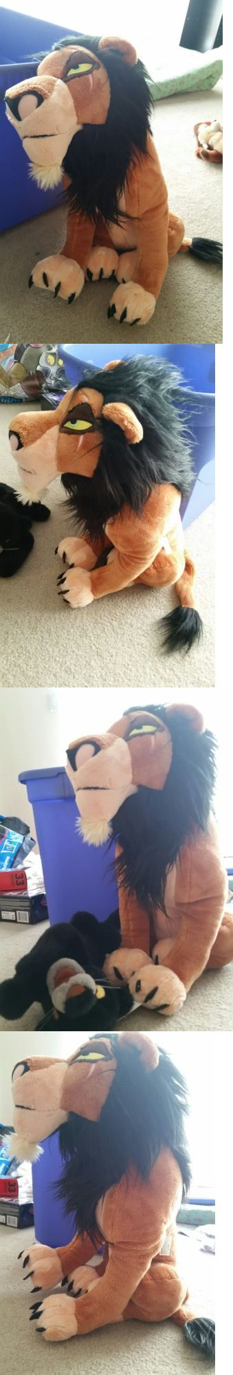 Lion King 44037: The Lion King Huge 18 Scar Plush Stuffed Toy W Tags Disney Store Exclusive -> BUY IT NOW ONLY: $174.98 on eBay!