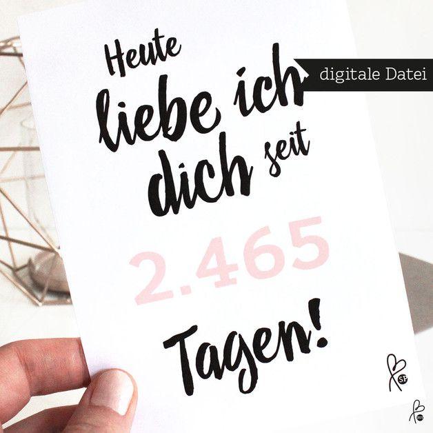 **► Dies ist eine digitale Datei (PDF)! Dies ist _kein_ gedrucktes Produkt. Deko wird NICHT mitverkauft.◄**  Wunderschöne lastminute-Grußkarte **Selbstausdrucken** – schnell &...