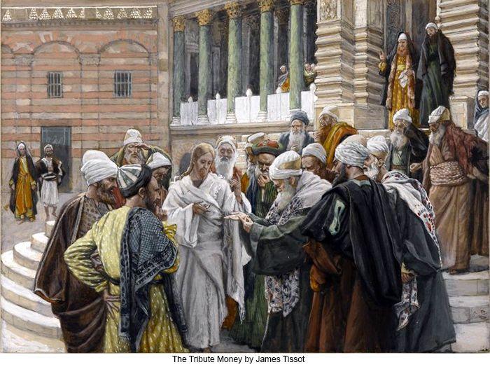 """""""Dai pois a César o que é de César, e a Deus o que é de Deus"""". (Mt 22,21)"""