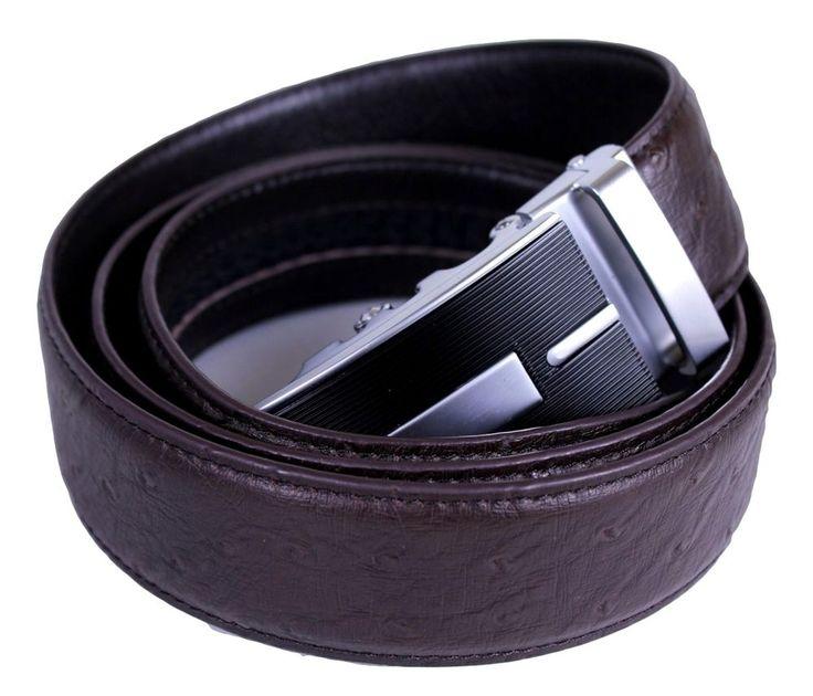 Mooniva luxury edition mens ratchet leather belt bbp001