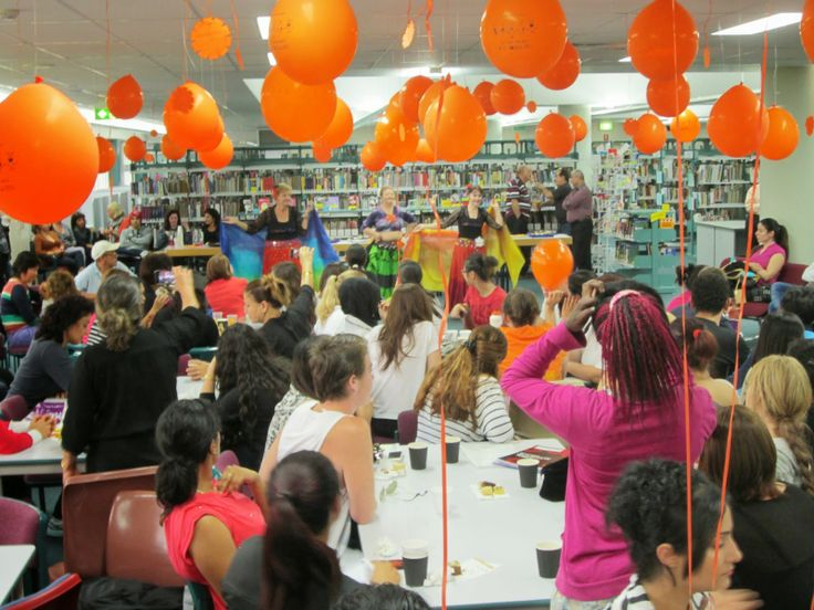 Celebrating Harmony Day Over 300 students helped celebrate Harmony Day in the library today, with food, fun, dancing, prizes & world bingo!