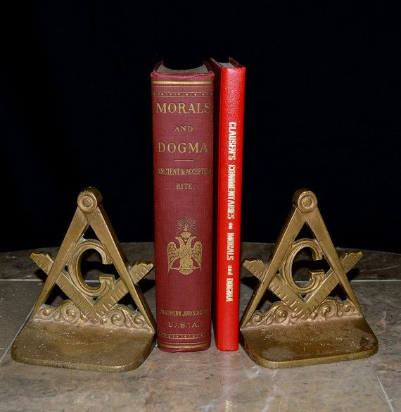 Sacred Masonic Books 1940's Morals & Dogma by CosmicLibrary
