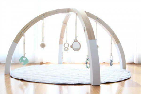 Scandi inspired baby play gym