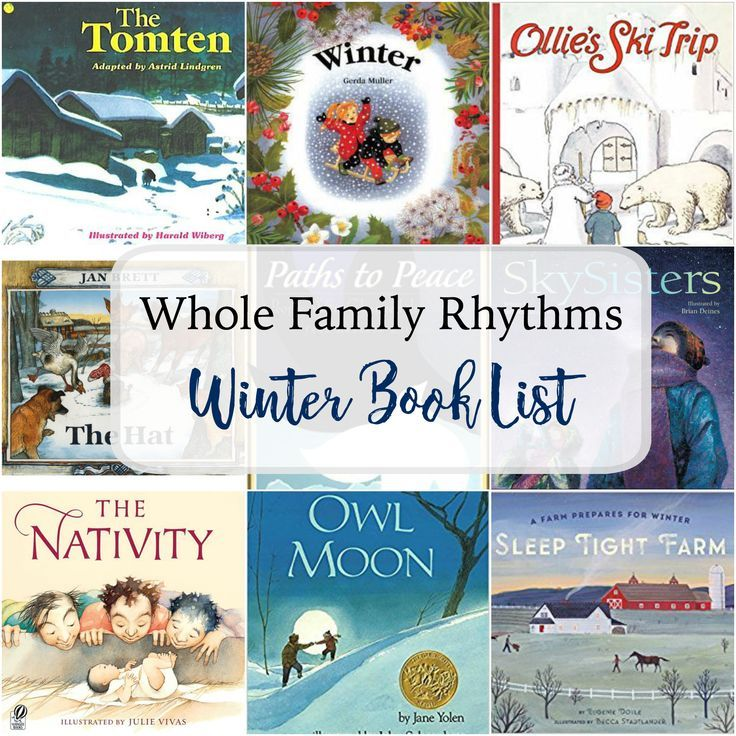 Winter Feels Over and Under the Snow by Kate Messner Own Moon by Jane Yolen Winter Garden by Kristin Hannah The Story of the Snow Children by Sibylle Von Olf\ers The Tomten by Astrid Lindgren Ollie's Ski Trip by Elsa Beskow The Longest Night by Marion Dane Bauer Winter by Gerda Muller The Hat …