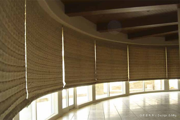 1000 images about perry luxe roman shades on pinterest for Motorized shades for arched windows