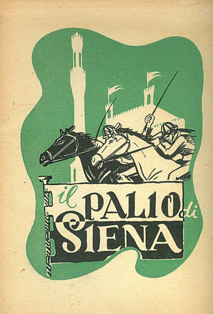 Il Palio di Siena (1950). Vignette sul Palio di Enea Marroni.Vai alla pagina http://www.scribd.com/iltesorodisiena