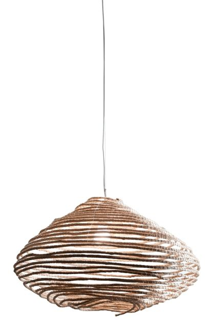 Samba Sphere Ceiling Light $319 comes in charcoal and red also from Global West