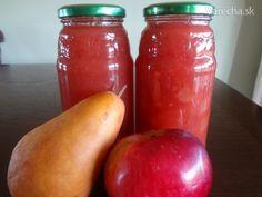 Hruškovo-jablkový džem (fotorecept)