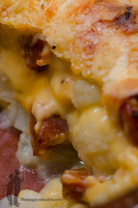 Gratin de chou-fleur au chorizo | Piratage Culinaire