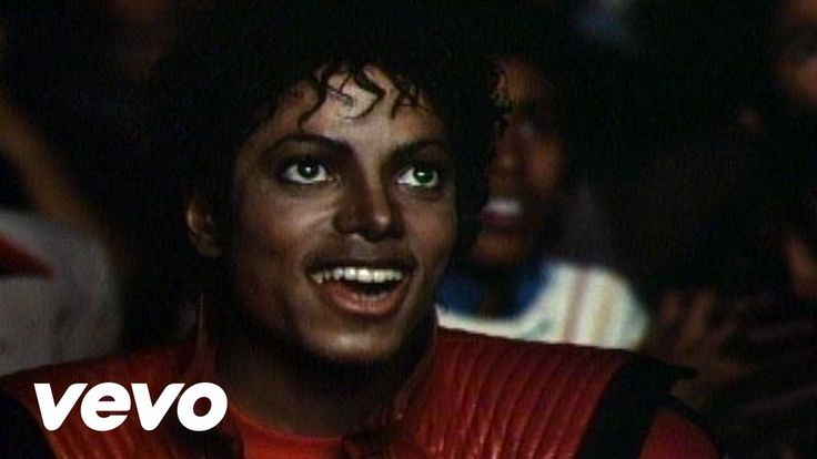 Michael Jackson - Thriller...my dance company was tacky enough to do a dance piece on this and I was the lead dancer to it.