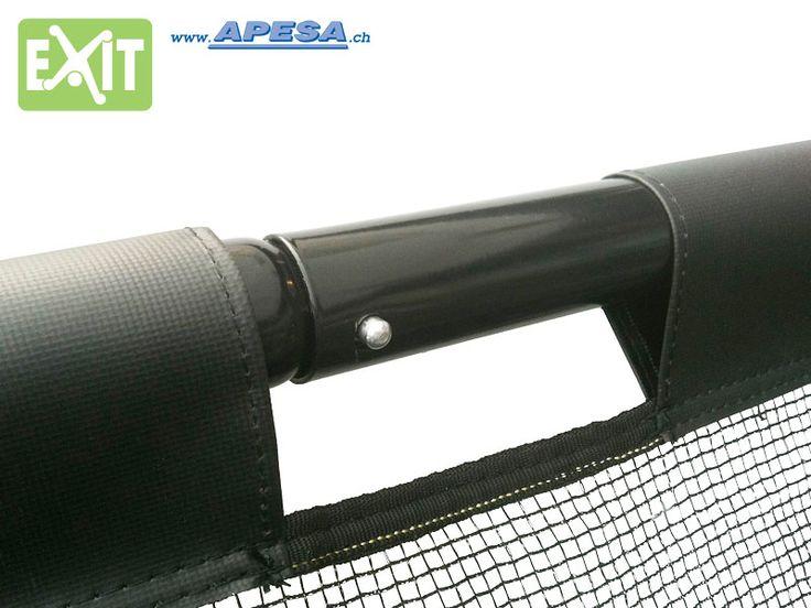Stunning Exit Fussballtor werden alle mit einem Stecksystem mit Druckknopf montiert Die Tore von apesa