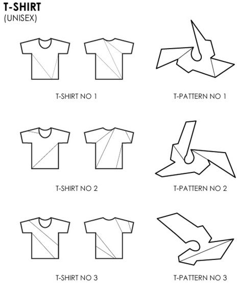 """While we had a first glimpse at some of their experimental """"non-basics"""" at Dutch Design Week, the T-Shirt Issue is also looking to launch a line of reimagined tees through a Kickstarter campaign."""