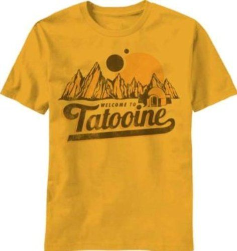 Star Wars Welcome to Tatooine T-shirt  #StarWars #MyNewTshirtCrush