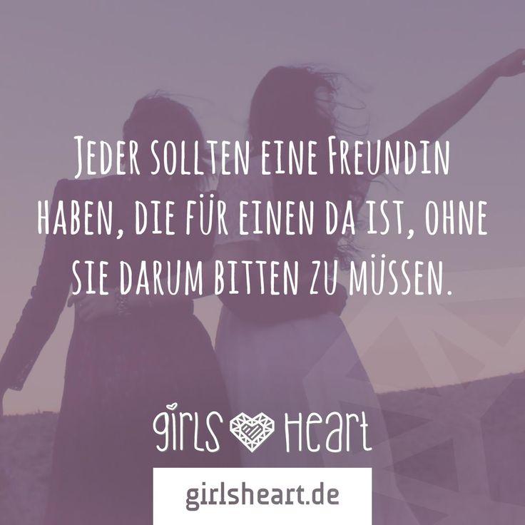 Markiert eure Freundinnen und sagt Danke fürs immer da sind! Mehr Sprüche auf: www.girlsheart.de #freundin #freundinnen