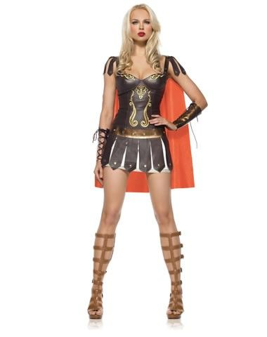 *A friend and I are plotting this as a costume for me for next year. Two words: duct tape. ;-) Warrior Princess Adult Womens Costume