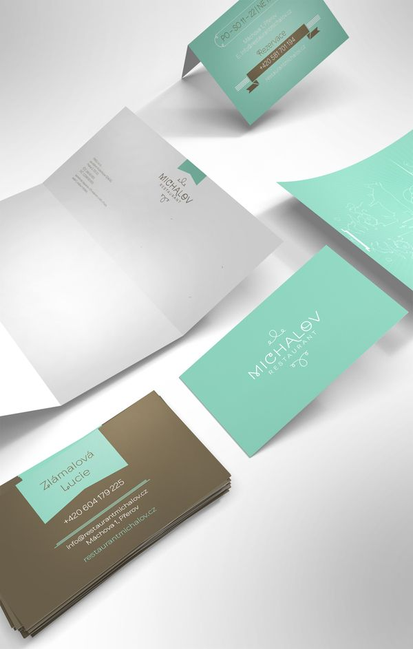 Michalov Restaurant | Corporate Identity | Designer:  Stanislav Bilek | Image 2 of 7
