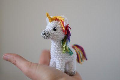 Ms. Eni - Einhorn häkeln, Anleitung    crochet unicorn, pattern