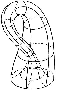Felix Klein, the Klein bottle (impossible shapes)