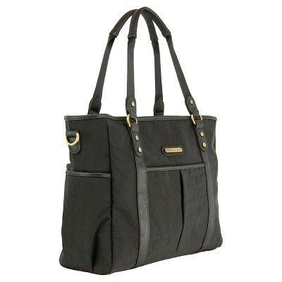 timi & leslie Classic Tote Diaper Bag - Soho Black