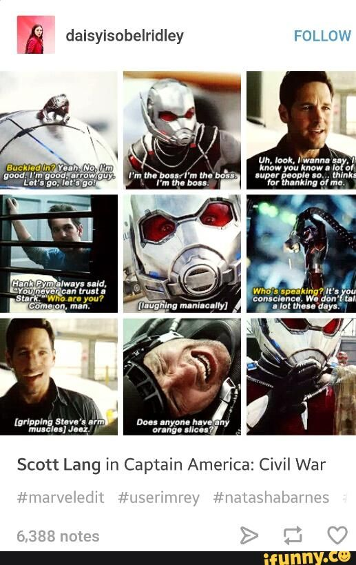 """I love this man more than words can say. #antman - Why do they never include """"thinks for thanking of me!"""""""