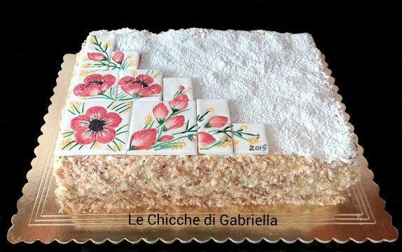 "Painting su ""torta delizia"""