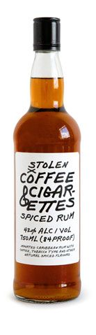 Well this is intriguing... A smoke-flavoured rum inspired by Jim Jarmusch's Coffee  Cigarettes.  I bet they would make fantastic buttered rums... and the chocolates and baking I could make!  Hmmm...