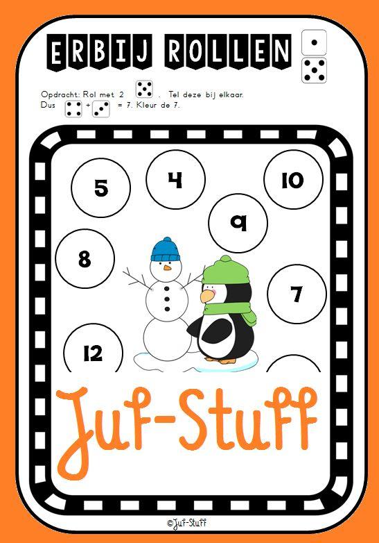 Juf-Stuff: Dobbelspel