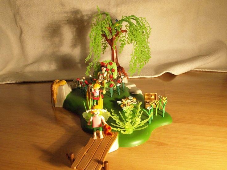 Playmobil Feenkönigin im Blumengarten Set 4199 Landschaft Feenwelt | eBay
