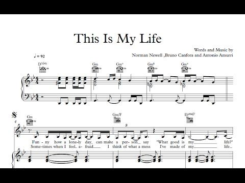 This Is My Life - Shirley Bassey [Sheet & Midi Download] #sheetmusic #midi #download #shirleybassey #thisismylife Download link: http://goo.gl/DYhUvk