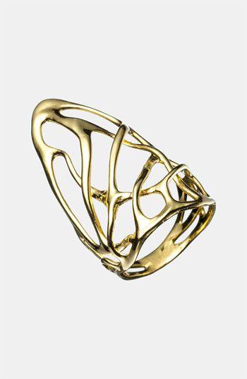 Alexis Bittar 'Miss Havisham - Liquid Gold' Open Ring