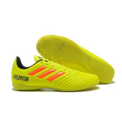 hot sale online 35838 72c07 Los Nuevos Zapatos De Futbol Sala adidas Predator Tango 18.4 Indoor  Amarillos Naranjas