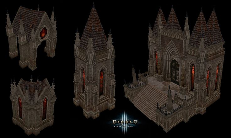 ArtStation - Diablo III Reaper of Souls, Anessa Silzer