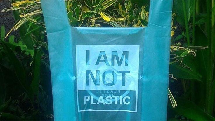 Diseñan bolsas que en el mar se convierten en agua