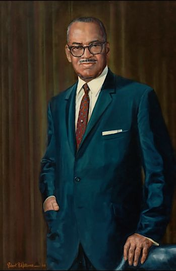 William L. Dawson, Democratic Vice Presidential candidate, the first Black Vice Chairman of the Democratic National Committee, and the first Black Congressman to chair a standing...