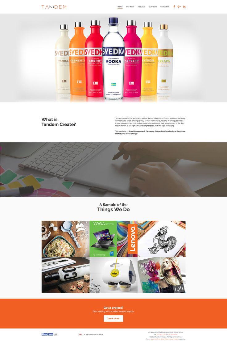 Tandem Create Website