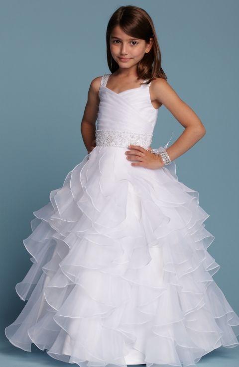 The 11 best Flower girl dresses images on Pinterest   Bridal gowns ...