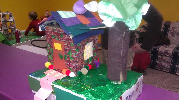 Recycles project make your own house from recycled for Investigatory project recyclable materials
