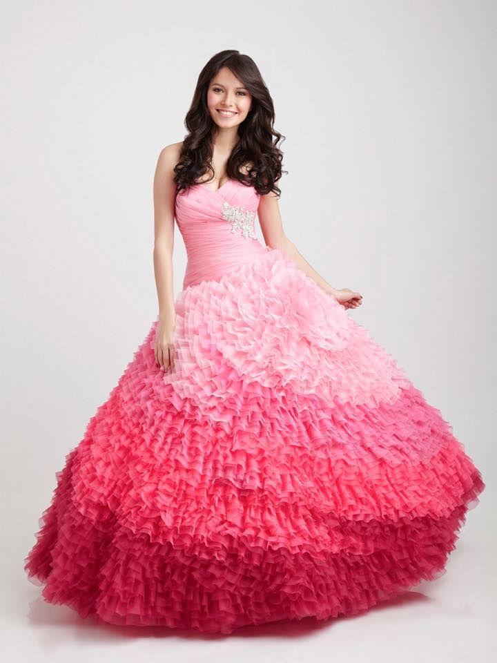 13 best Quinceañera Gowns images on Pinterest | Formal dresses ...