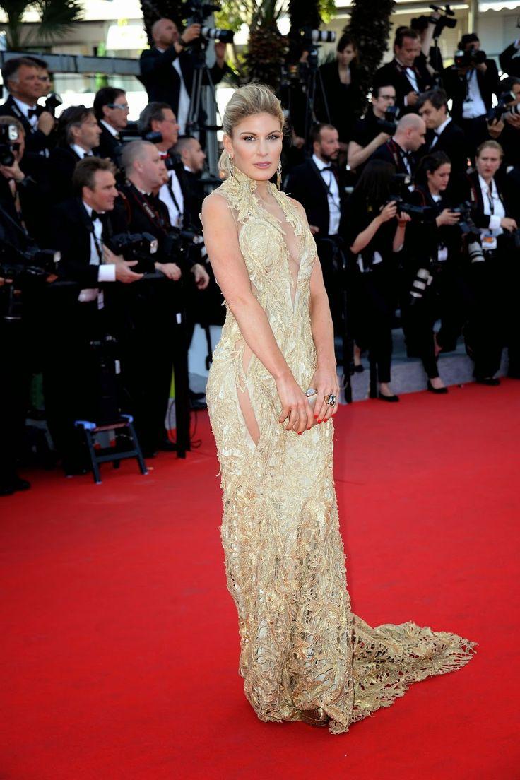 Stylefluid Trendz: Day 2:Hofit Golan in Gaurav Gupta :Cannes 2014:Red Carpet