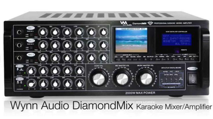 Wynn Audio Diamond Mix Professional Karaoke Mixer