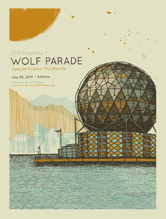 Gig Poster for Wolf Parade