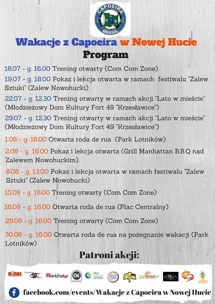 Zapraszamy! Zaktualizowany program! :)