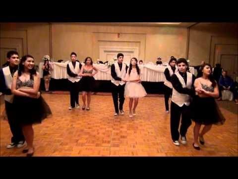 Alyssa S 15 Surprise Dance Surprise Dance Quinceanera