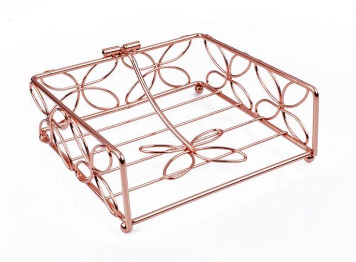 Buy Copper Napkin Holder Online - PurpleSpoilz Australia