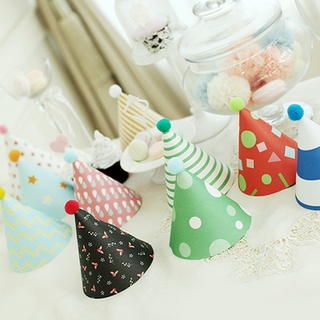 10 Patterned Party Hats from #YesStyle <3 BABOSARANG YesStyle.com