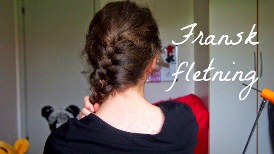 Guide til franske fletninger på aseaofinspiration.blogspot.dk