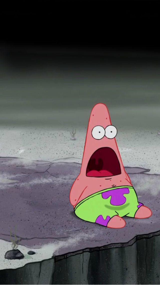 Patrick star from SpongeBob SquarePants. Big Face Parallax