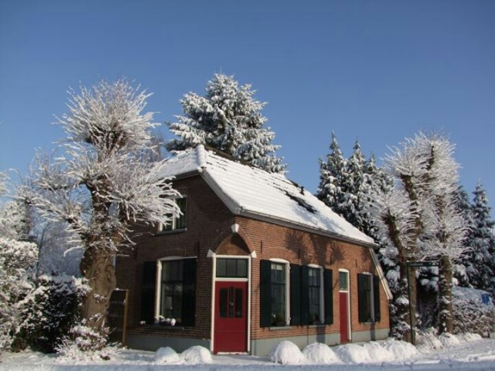 Our house in the winter of 2010