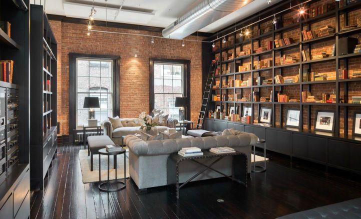 Así es una mansión tipo loft de 50 millones de dólares en Nueva York - FOTOS