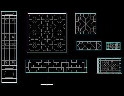 Ancient windows cad block free autocad drawing cad blocks for Architectural decoration crossword clue